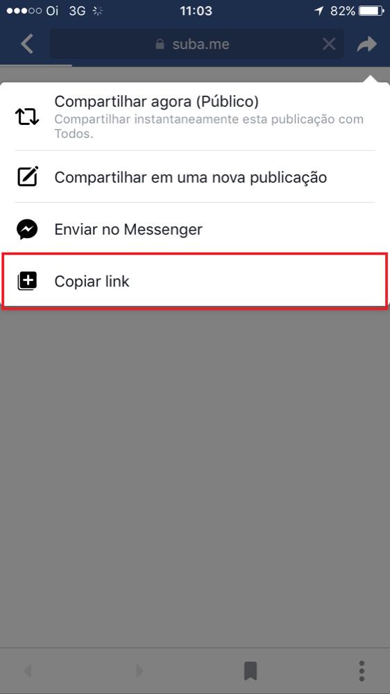 Como copiar link de imagem no smartphone