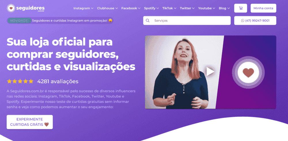 Conheça a Seguidores.com.br