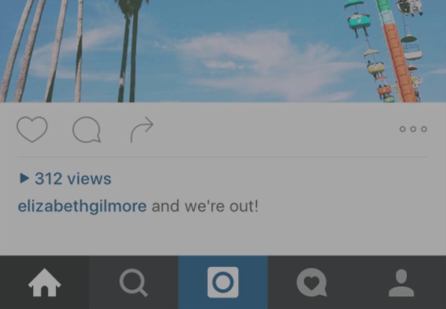 Contador de visualizações vídeos Instagram