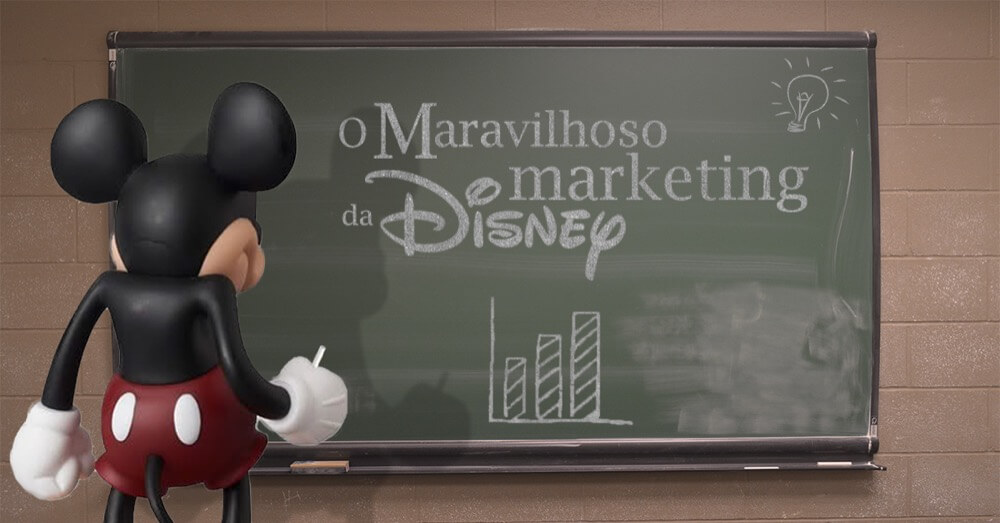 A estratégia dos meios de comunicação social, da Disney