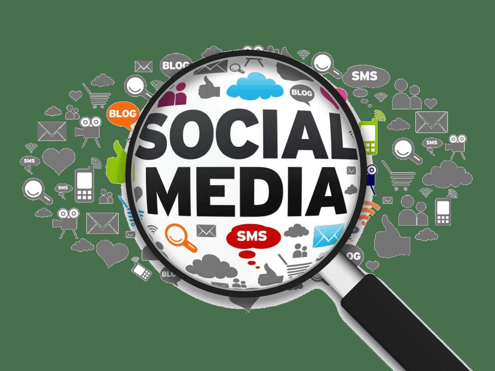 divulgar empresa na internet redes sociais