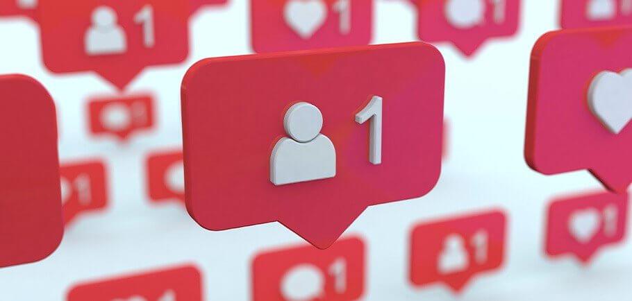 Número de seguidores nas redes sociais importa e muito