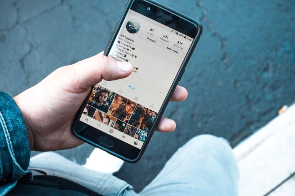 Otimize seu perfil no Instagram