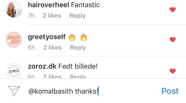 Responda comentários no Instagram